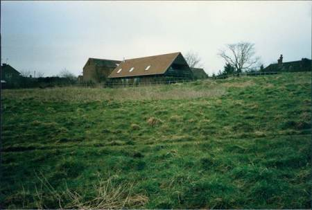 The Barn House was built in the grounds of Market Lavington's Old House