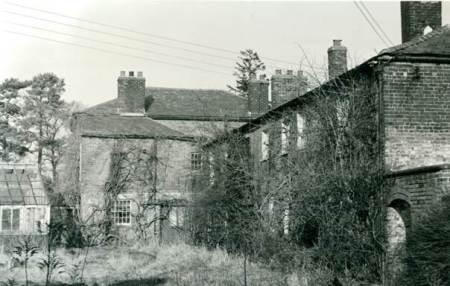 Fiddington House after closure as an asylum in 1963