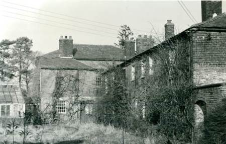 Fiddington House after closure as an asylum in 1963