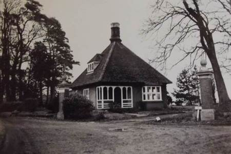 Bouverie Lodge, Market Lavington in 1972