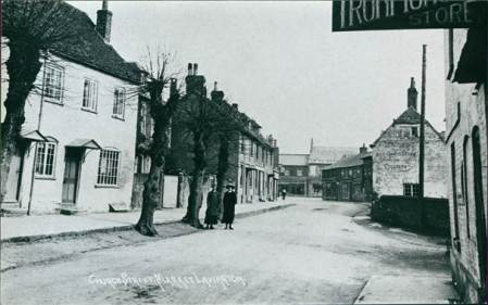Market Lavington's Church Street in about 1910