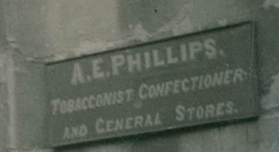 A E Phillips had a general store in what we now often call Kyte's Cottage