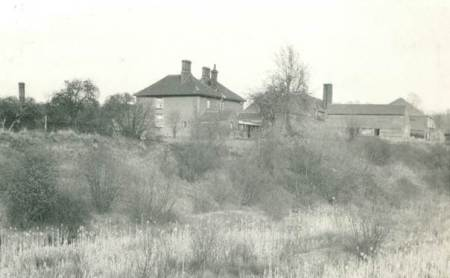 Market Lavington brickworks in 1948