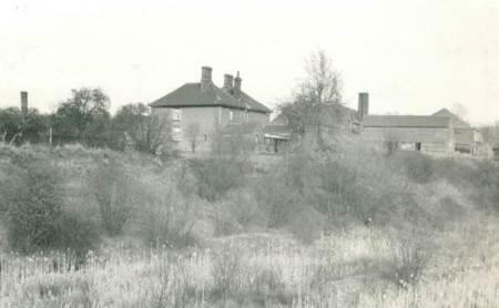 Market Lavington brickworks in 1948