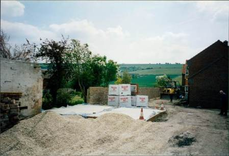 Work begins on the new houses
