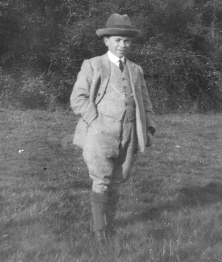 Freddy Chapman of Market Lavington