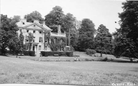 Clyffe Hall, Market Lavington in about 1957