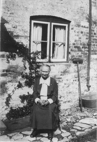 Grandma Clelford of Easterton