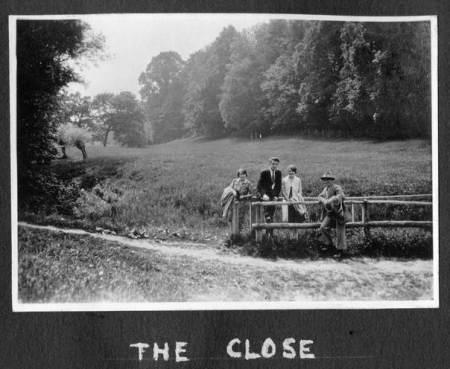 The Close, Market Lavington in about 1929