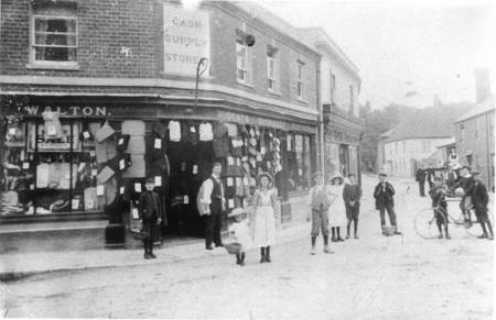 White Street in Edwardian times