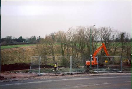 Work on the surgery begins - December 2003