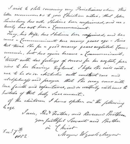 More details about John Sainsbury and family who were emigrating to Australia in 1852