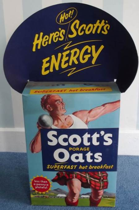 This ad is a giant sized box and probably dates from the 1950s or 60s