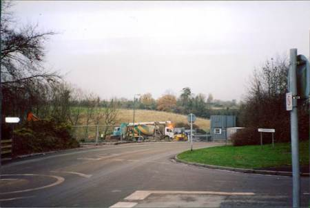 From the Fiddington Clay roundabout