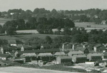 Southcliffe houses were still being built