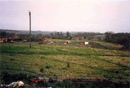The start of work on the Grove Farm Estate in 1987