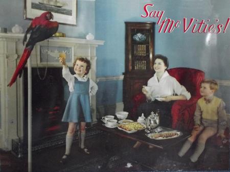 1950s advert from Harry Hobbs' 1950s shop