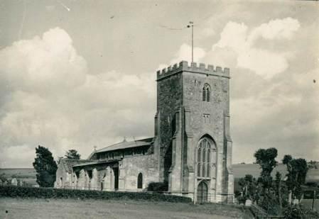St Mary's, Market Lavington in the 1930s