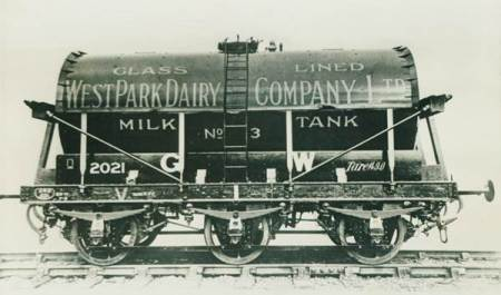 West Park Dairy tank wagon of the 1930s