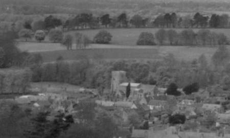 The church as seen some 44 years ago