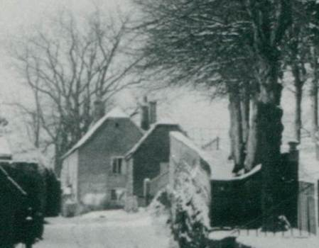Grove Farm - now gone and replaced by the Community Hall