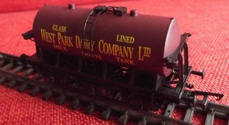 The Hornby 00 Gauge wagon