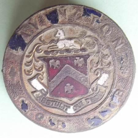 Lavington Cycle Club badge found in Market Lavington - 20th century