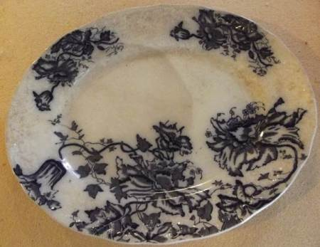 Blue and White Poppy pattern chine by T Till and Sons