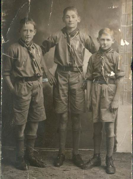 The Emms brothers were Second World War evacuees in Market Lavington