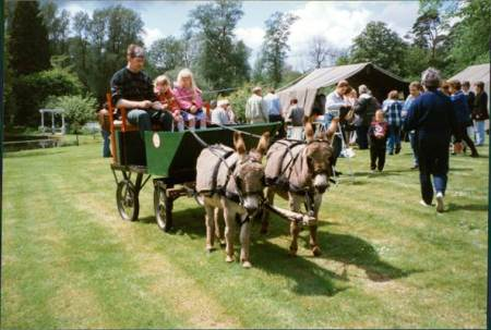 Market Lavington Church Fete in 1996