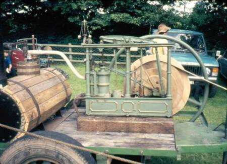 The 1830 Market Lavington made steam engine in about 1973