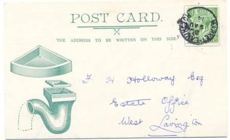 Hopkins postcard sent on 18th August 1914