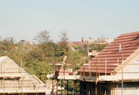 In the background we see the top of Northbrook