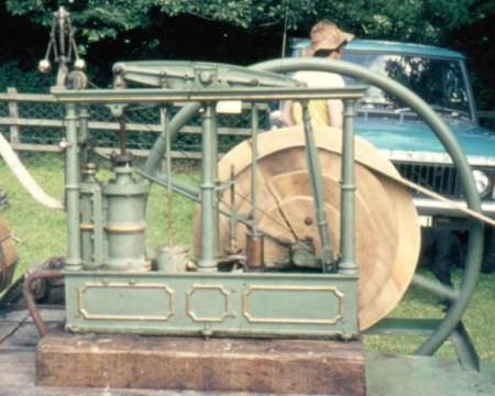 William Cambridge designed and made this engine at his Market Lavington works