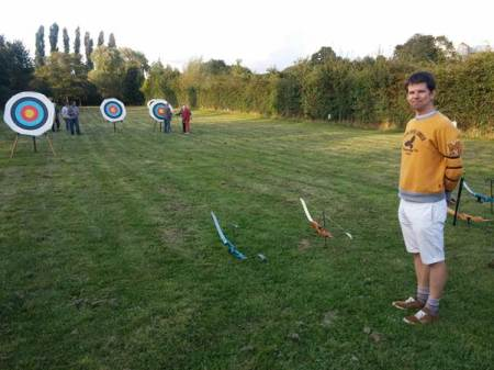 Easterton Archers meet on Wednesdays behind Easterton Village Hall