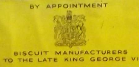 By appointment to the late King George VI.