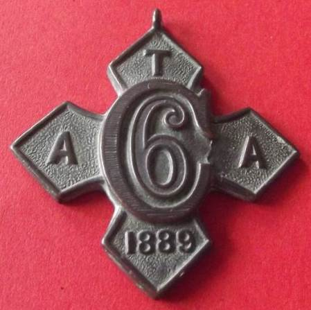 Army Temperence Association medallion found in Market Lavington