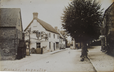 Church Street, Market Lavington in about 1912