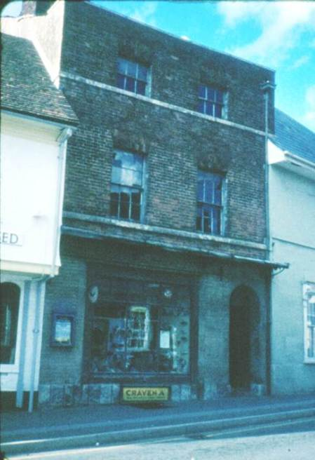 Ken Mundy's shoe shop in about 1977