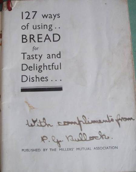 It was given to residents of Clyffe Hall by Percy George Bullock of Easterton