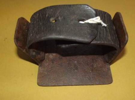 A digging plate at Market Lavington Museum