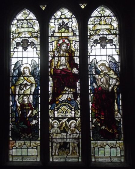 The actual window in St Mary's Church
