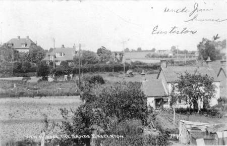 1954 postcard showing Easterton Sands