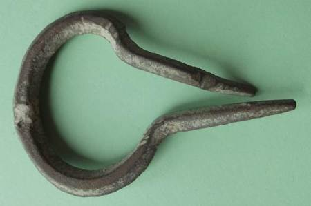 Remains of a Jew's harp found in Market Lavington