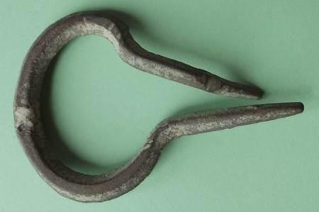 Remains of a Jew's harp found in Market Lavington