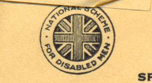 The mark of the National Scheme for Disabled Men