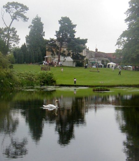 Lake and house in 2006