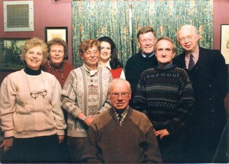 Easterton Parish Council celebrate Tom Jefferies 90th birthday