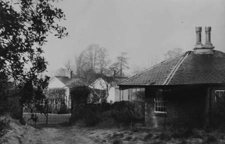 Fiddington Lodge in about 1960