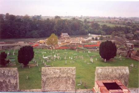 The area of Beechwood from the church tower in Market Lavington (2)